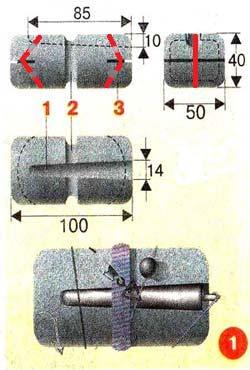 Самодельная поставушка жерлица на щуку изображение