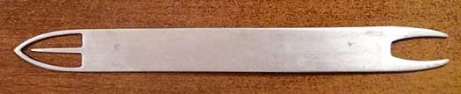 Челнок для вязания сетки малявочника фото