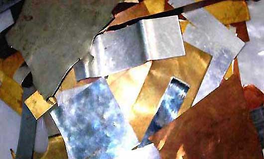 Материалы для изготовления судаковых блесен фотография