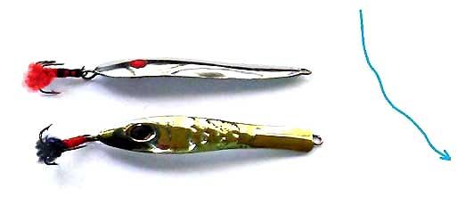Самодельные судаковые отвесные блесны фотография
